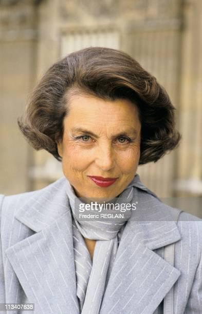 Liliane Bettencourt On January 1st 1987