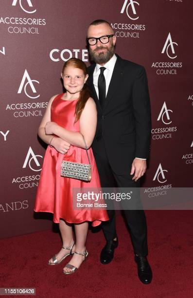 LilianeRose Falco and Joe Falco attend the 23rd Annual ACE Awards at Cipriani 42nd Street on June 10 2019 in New York City