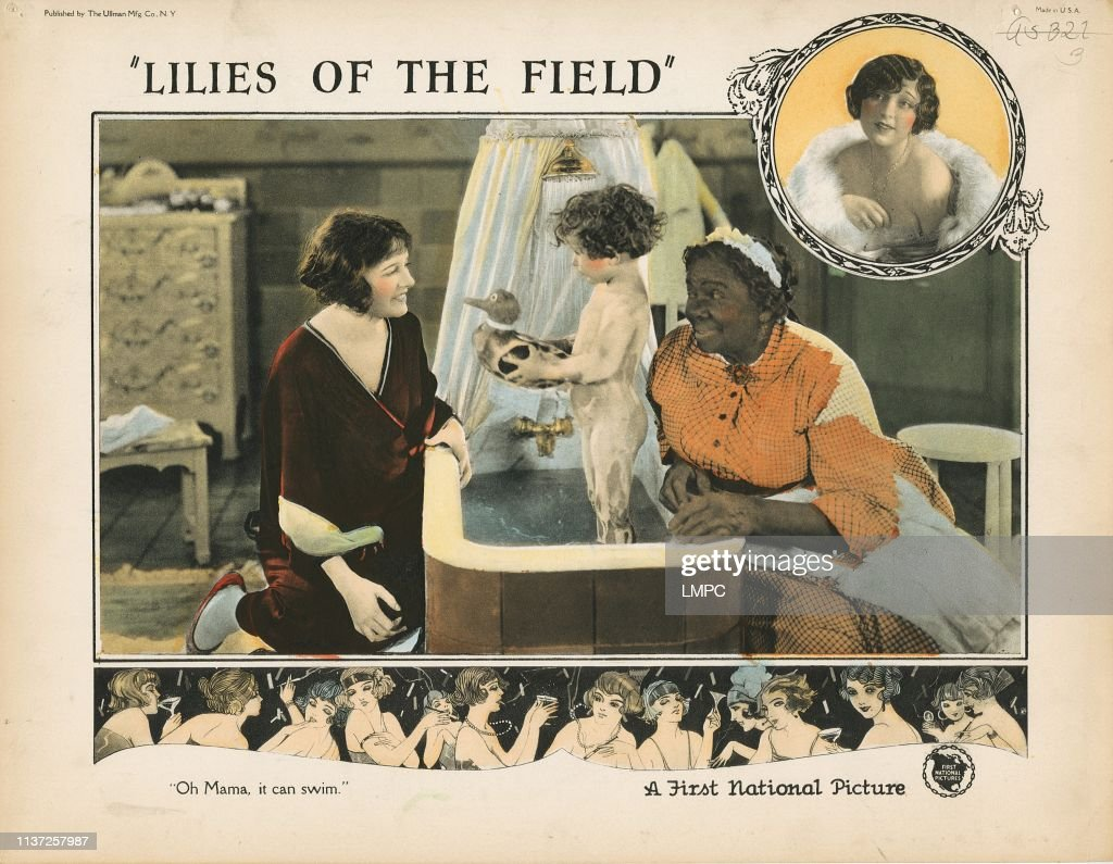 Actress Corinne Griffith 1924 Lilies Of The Field Silent Movie Poster