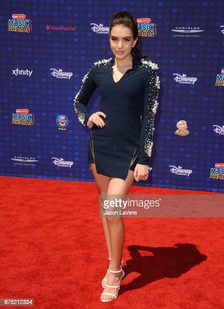 Lilimar Hernandez attends the 2017 Radio Disney Music Awards at Microsoft Theater on April 29 2017 in Los Angeles California