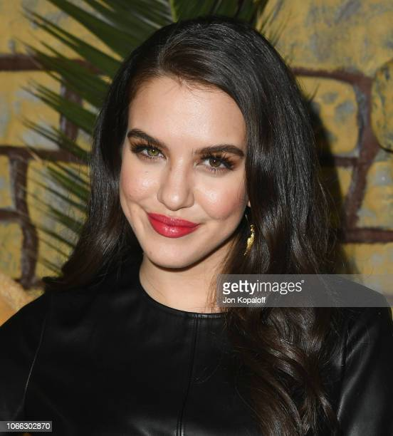 Lilimar Hernandez attends the premiere of Netflix's Mowgli at ArcLight Hollywood on November 28 2018 in Hollywood California