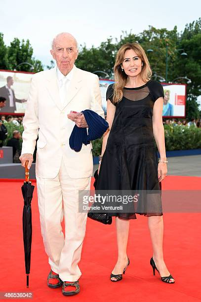Lilio Sforza and Maria Pia Ruspoli attend a premiere for 'Black Mass' during the 72nd Venice Film Festival on September 4 2015 in Venice Italy