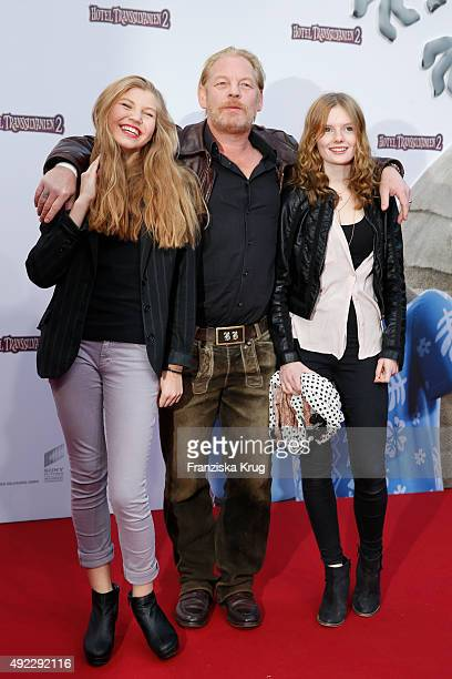 Lilith Becker Ben Becker and guest attend the 'Hotel Transsilvanien 2' German Premiere on October 11 2015 in Berlin Germany
