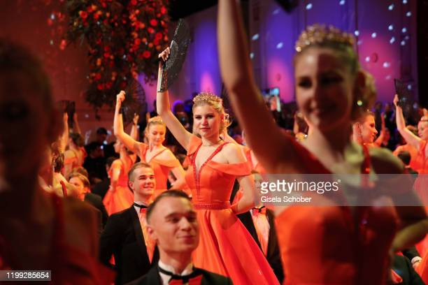Lilith Becker daughter of Ben Becker and Stefan Nissbach during the 15th Semper Opera Ball 2020 at Semperoper on February 7 2020 in Dresden Germany