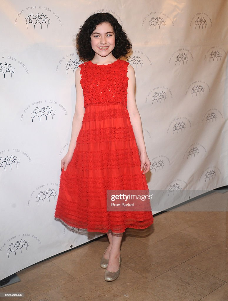 Lilla Crawford attends the New York Stage and Film Annual Winter Gala at The Plaza Hotel on December 9, 2012 in New York City.