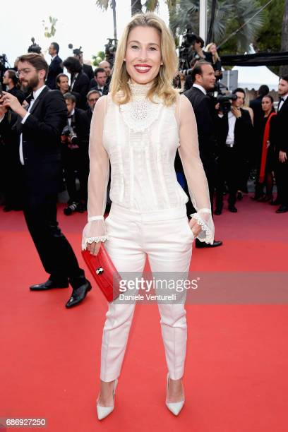 Lilla Soria attends the 'The Killing Of A Sacred Deer' screening during the 70th annual Cannes Film Festival at Palais des Festivals on May 22 2017...