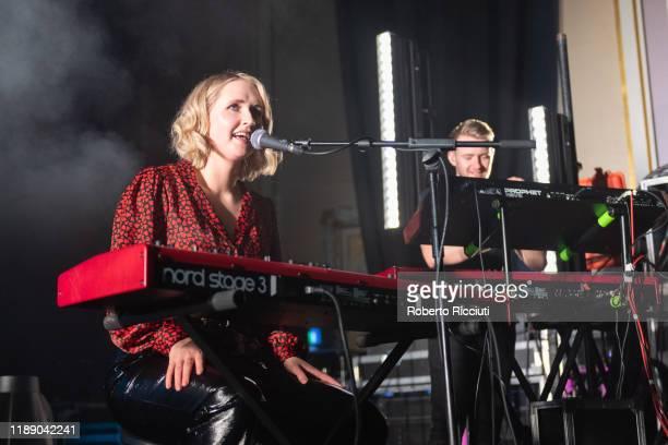 Lilla Vargen performs at Usher Hall on December 16, 2019 in Edinburgh, Scotland.