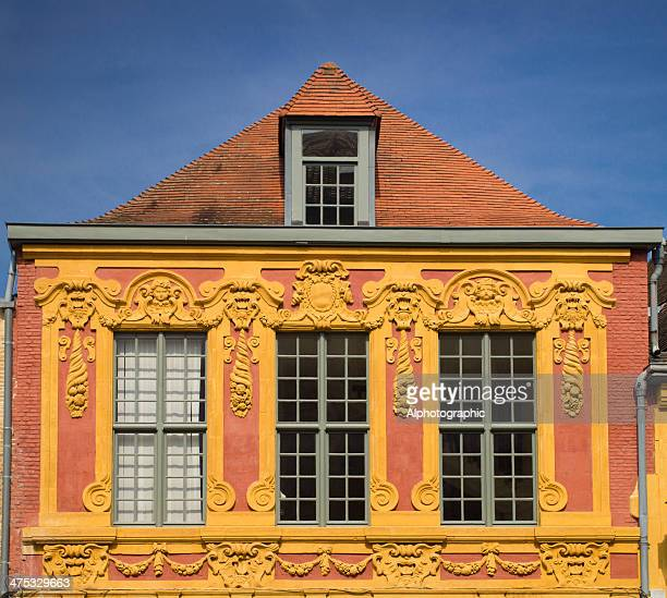 lille building - hauts de france stock photos and pictures