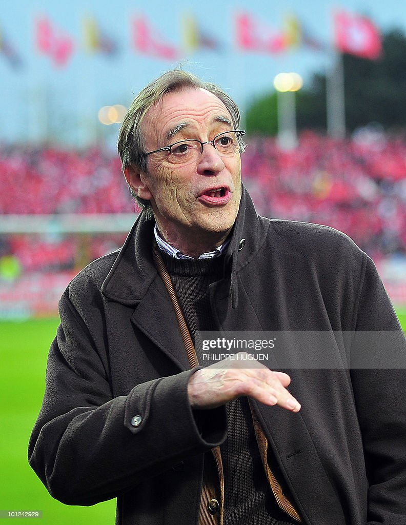 Lille football club's president Michel Seydoux attends the French L1 football match Lille vs Marseille on May 8, 2010 at Lille metropole stadium in Villeneuve d'Ascq.