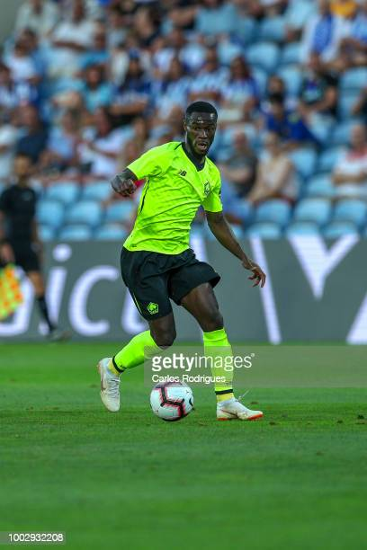 Lille forward Jonathan Bamba from France during the match between FC Porto v LOSC Lille for Algarve Football Cup 2018 at Estadio do Algarve on July...