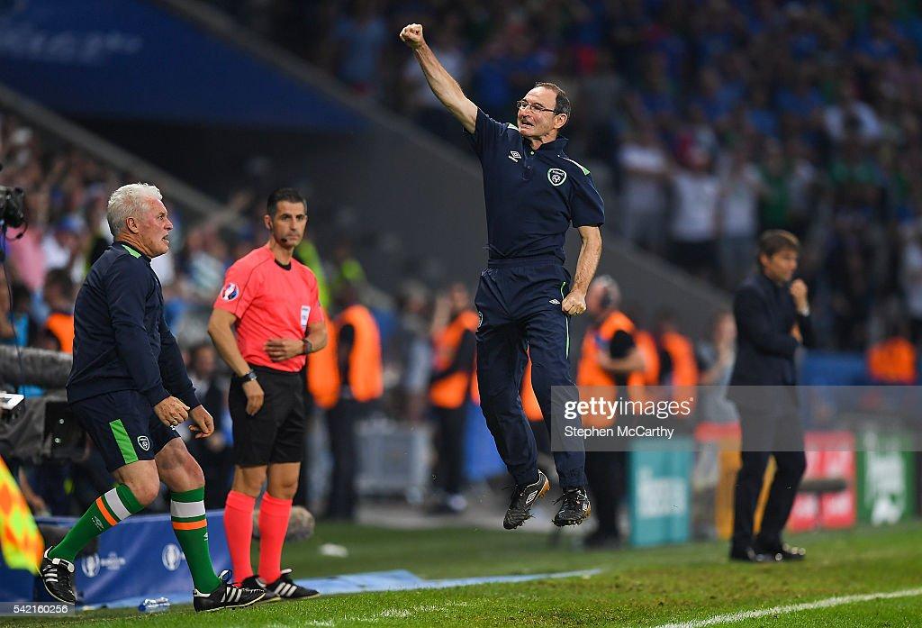 Italy v Republic of Ireland - UEFA Euro 2016 Group E : News Photo