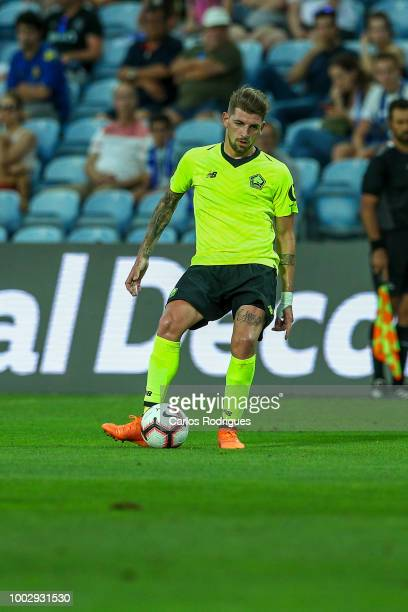 Lille midfielder Xeka from Portugal during the match between FC Porto v LOSC Lille for Algarve Football Cup 2018 at Estadio do Algarve on July 20,...