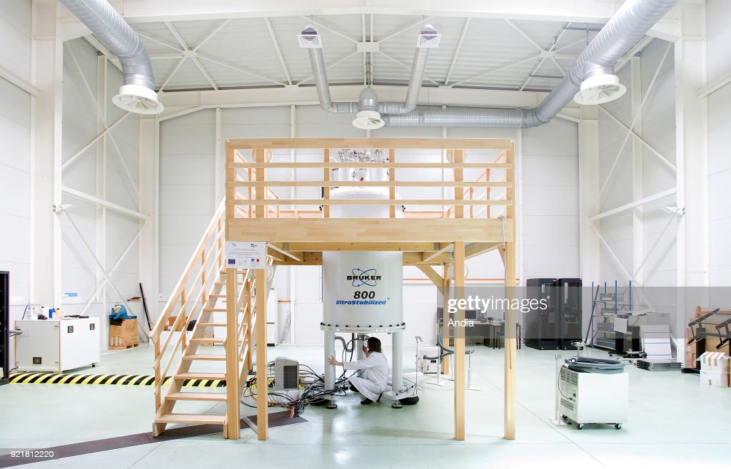 Lille (northern France), National Chemical Engineering Institute, 'Ecole nationale superieure de chimie de Lille' (ENSCL or Chimie Lille), May 2015: nuclear magnetic resonance spectroscopy, device.