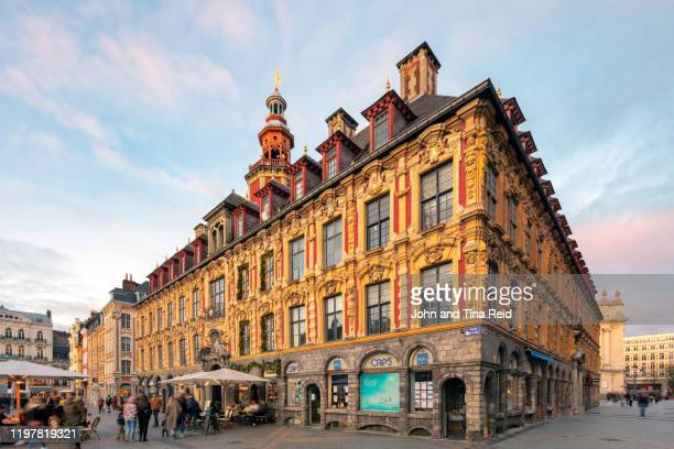 lille old town - france lille stock pictures, royalty-free photos & images