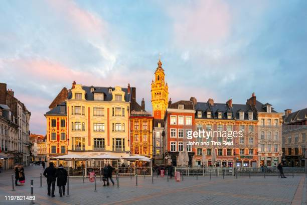lille old town - lille stock pictures, royalty-free photos & images
