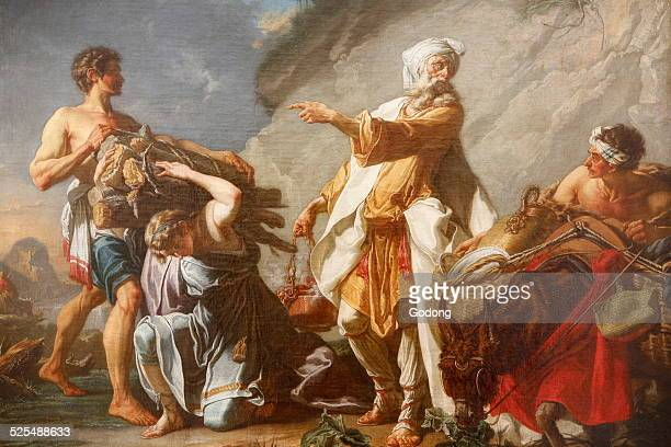 Lille Palace of Fine Arts Museum The sacrifice of Abraham by Hugues Taraval