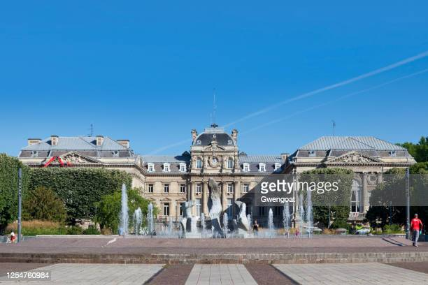 lille palace of fine arts - lille stock pictures, royalty-free photos & images
