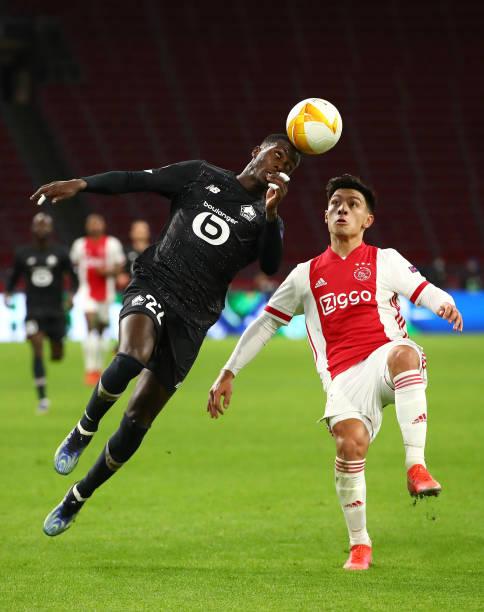 NLD: AFC Ajax v Lille OSC  - UEFA Europa League Round Of 32 Leg Two