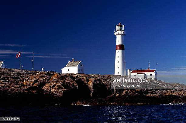 Lille Torungen Lighthouse deactivated in 1914 near Arendal AustAgder County Norway