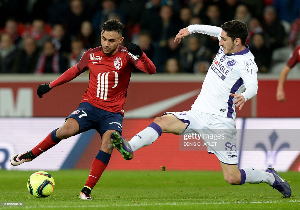 FBL-FRA-LIGUE1-LOSC-TOULOUSE : News Photo