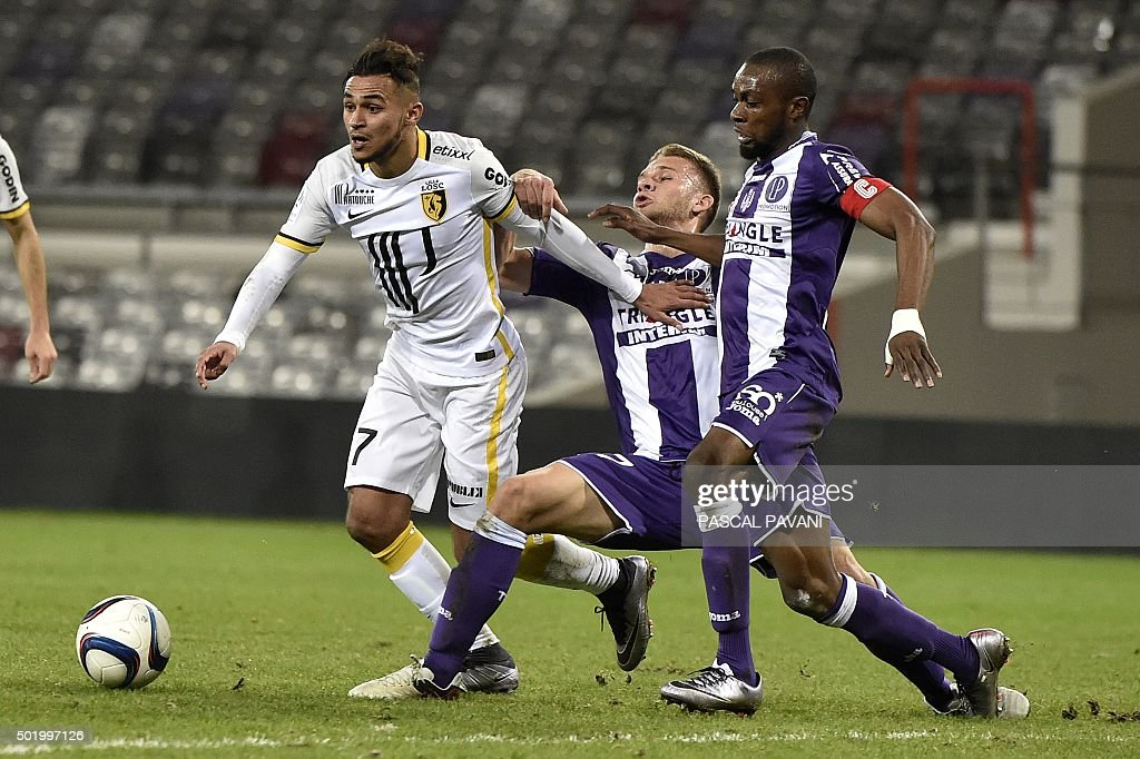 FBL-FRA-LIGUE1-TOULOUSE-LILLE : News Photo