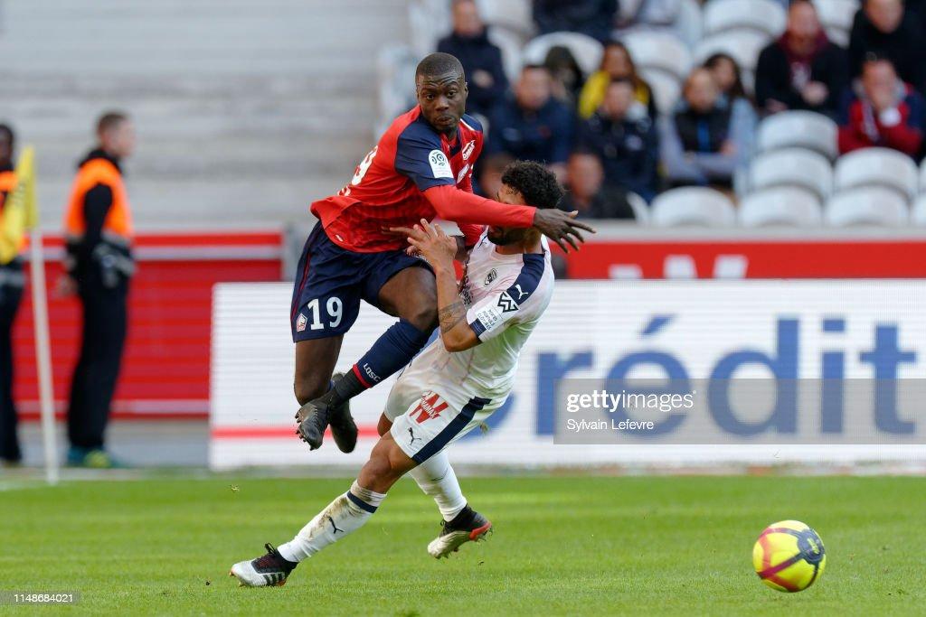 Lille OSC v Girondins Bordeaux - Ligue 1 : News Photo