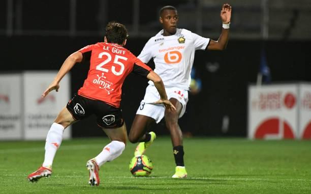 FRA: FC Lorient v Lille OSC - Ligue 1 Uber Eats