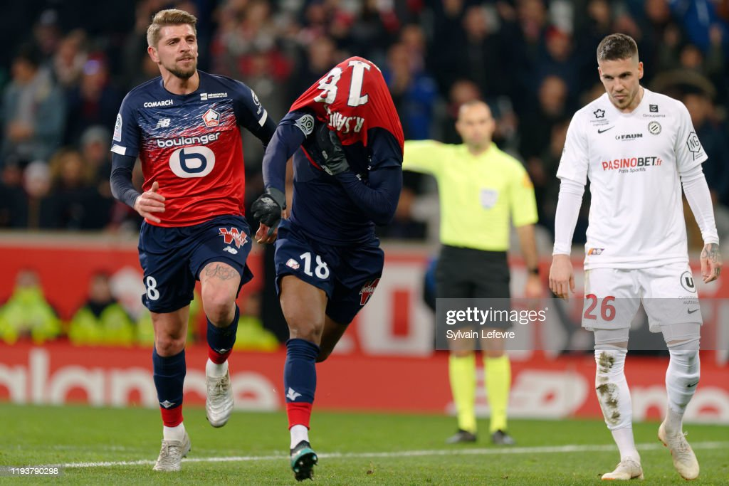 Lille OSC v Montpellier HSC - Ligue 1 : News Photo