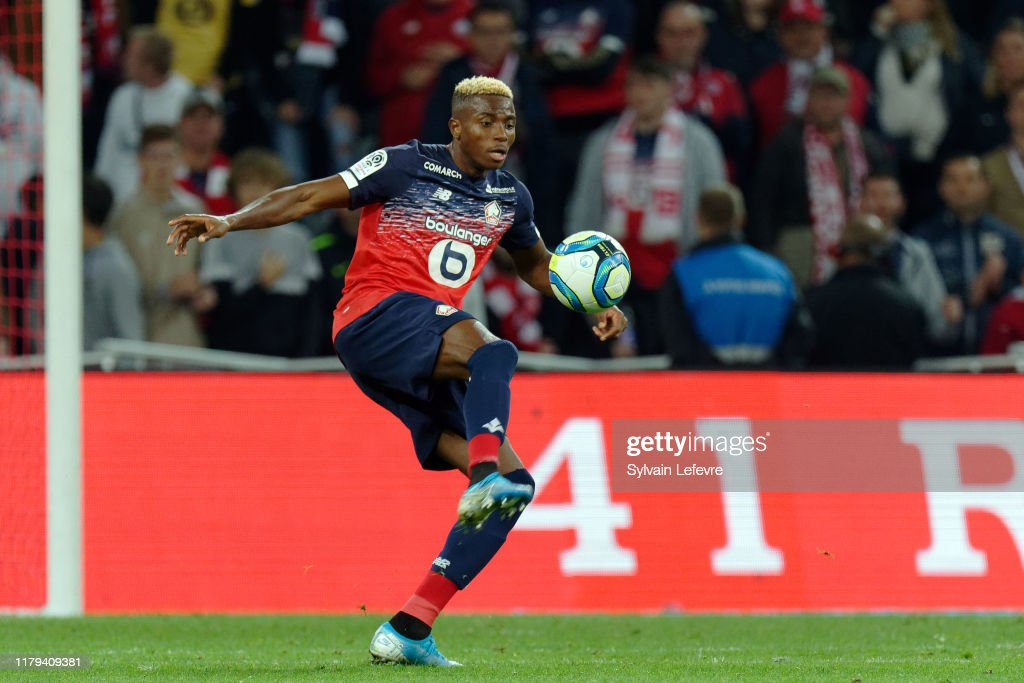 Lille OSC v Nimes Olympique - Ligue 1 : News Photo