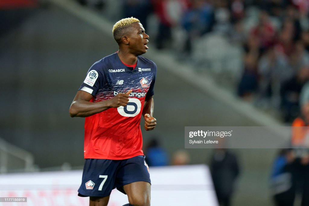 Lille OSC v RC Strasbourg - Ligue 1 : News Photo