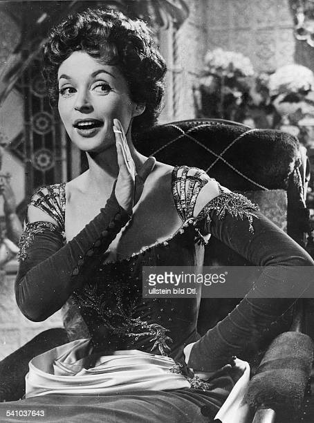 Lilli Palmer * Actress Germany in the film 'Fireworks' director Kurt Hoffman Germany 1954