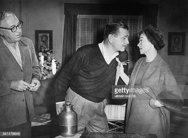 "Lilli Palmer, *-+, Actress, Germany - with Clark Gable in the film ""But not for Me"", director: Walter Lang - USA, 1959"