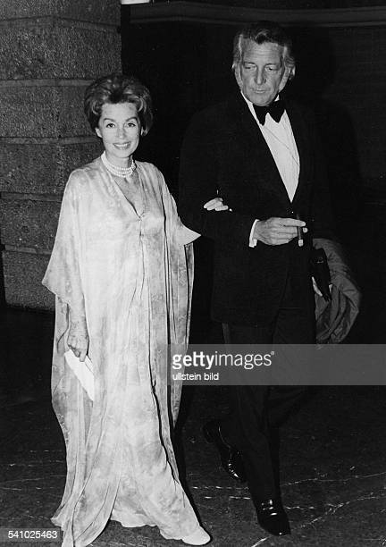 Lilli Palmer * Actress Germany with her husband Carlos Thompson 1973