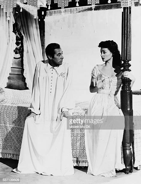 Lilli Palmer Actress Germany as Abby with Rex Harrison as John in the film 'The Four Poster' director Irving Reis USA 1952