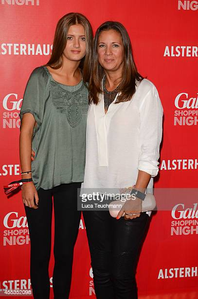 Lilli Schweiger and Dana Schweiger attend the 6th GALA Shopping Night at Alsterhaus on September 12 2014 in Hamburg Germany