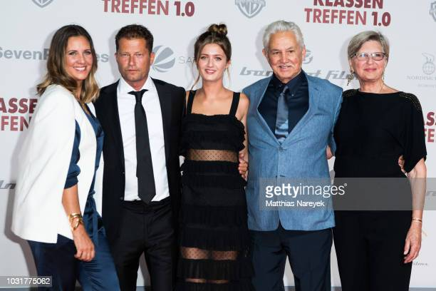 Lilli Schweiger Til Schweiger Dana Schweiger and the parents of Dana Schweiger John Carlson and Joyce Carlson attend the premiere of the film...