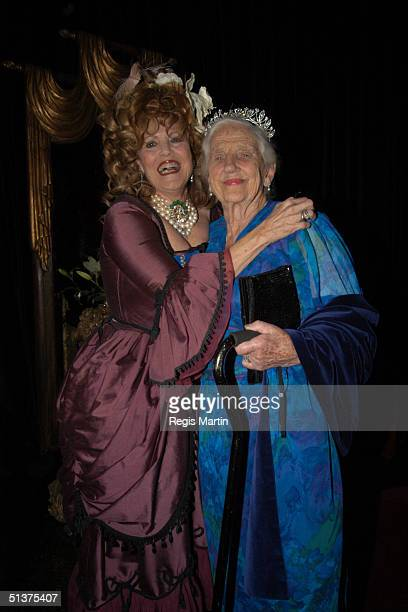 Lillian Frank and Dame Elisabeth Murdoch AC DBE CBE arrive at the Number 12 in Melbourne for A Right Royal Affair A sumptuous evening of dining and...