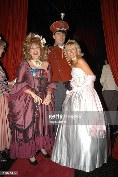 Lillian Frank and Iwona and Marcus Clark arrive at the Number 12 in Melbourne for A Right Royal Affair A sumptuous evening of dining and dancing in...