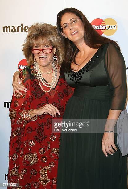 Lillian Frank and Jackie Frank attend the 2007 Prix De Marie Claire Awards at the White Bay Studios Rozelle on March 29 2007 in Sydney Australia The...