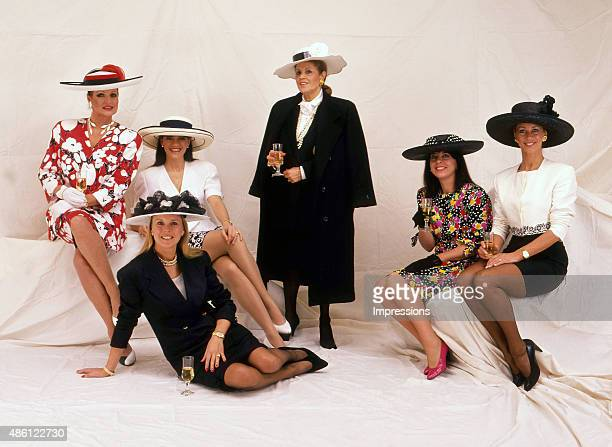 Lillian Frank and other Melbourne Socialites prepare for Melbourne Cup Racing Carnival Ann Peacock Gaynor Wheatley Lillian Frank