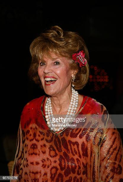 Lillian Frank arrives for the Crown VRC Oaks Club Ladies Function at Crown Palladium on November 4 2009 in Melbourne Australia