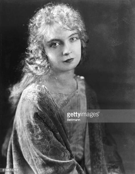 Lillian Gish American stage and motion picture actress as a young woman Undated photograph