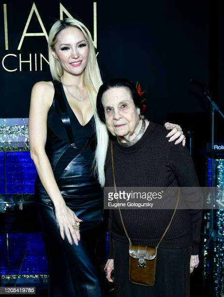 Lillian Gorbachincky and Gloria Starr Kinsattend the Andrea Bocelli Foundation Lillian Gorbachincky Present First Annual Luncheon at AD Building on...