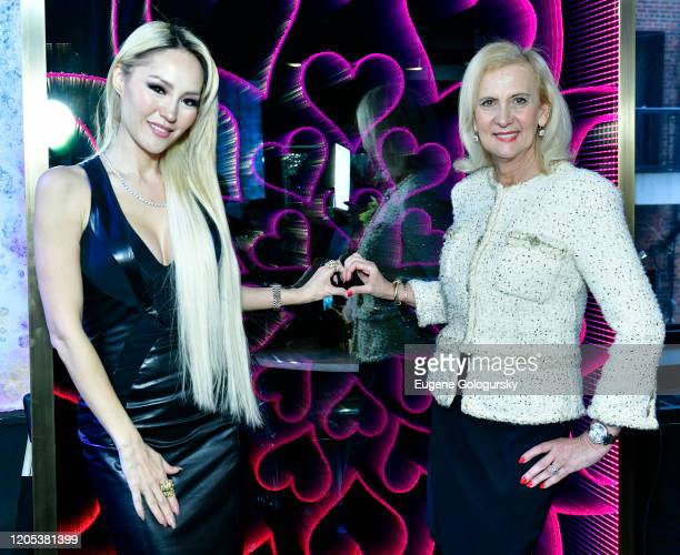 Lillian Gorbachincky and Ruth Miller attend the Andrea Bocelli Foundation Lillian Gorbachincky Present First Annual Luncheon at AD Building on...