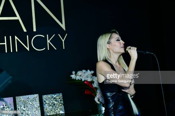 Lillian Gorbachincky performs at the Andrea Bocelli Foundation Lillian Gorbachincky Present First Annual Luncheon at AD Building on February 10 2020...