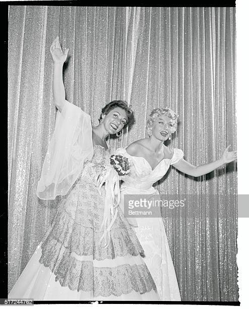 Lillian Roth onetime toast of the theatrical world who staged a spectacular comeback from alcoholism and strip tease queen Lili St Cyr acknowledge...