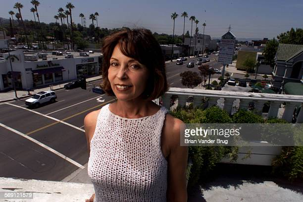 Lillian Wall overlooking shopping center on Ventura Bld in Tarzana She supports changes in the Ventura Blvd Specific Plan to ban certain businesses...