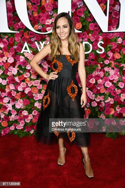 Lilliana Vazquez attends the 72nd Annual Tony Awards at Radio City Music Hall on June 10 2018 in New York City