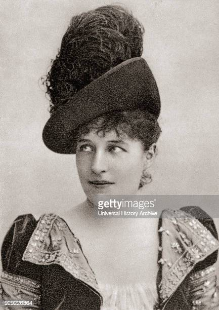 Lillie Langtry 1853 – 1929 also spelled Lily Langtry born Emilie Charlotte Le Breton American actress After a contemporary photograph