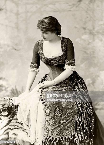 Lillie Langtry 1853 to 1929 born Emilie Charlotte Le Breton British actress
